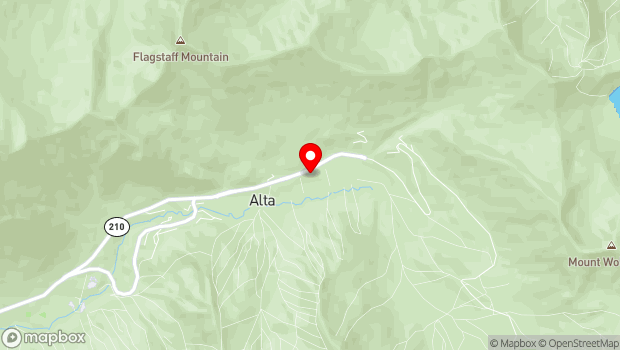 Google Map of East State Highway 210/Little Cottonwood Canyon, Alta, UT 84092