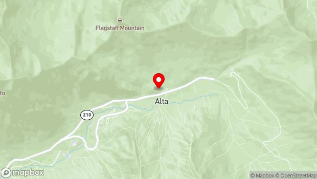 Google Map of 10189 East State Highway 210, Alta, UT 84092