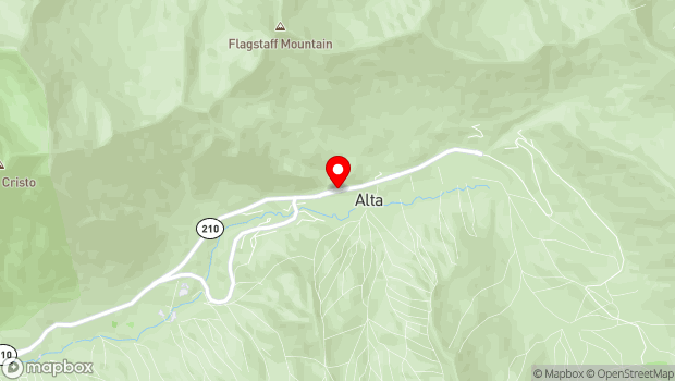 Google Map of Highway 210, UT