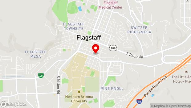 Google Map of 205 S. San Francisco, Flagstaff, AZ 86001