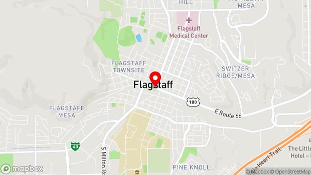 Google Map of Flagstaff, AZ 86001
