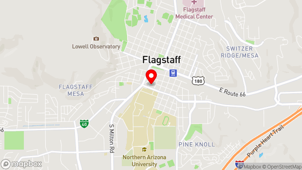 Google Map of 224 S. Kendrick St., Flagstaff, AZ 86001