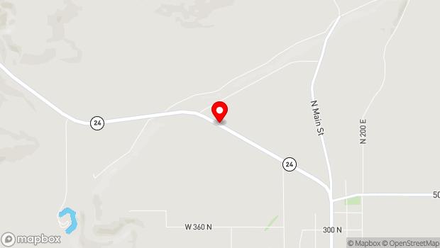 Google Map of UT-24, Loa, UT 84747