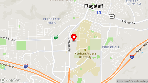 Google Map of 409 West Riordan Road, Flagstaff, AZ 86001