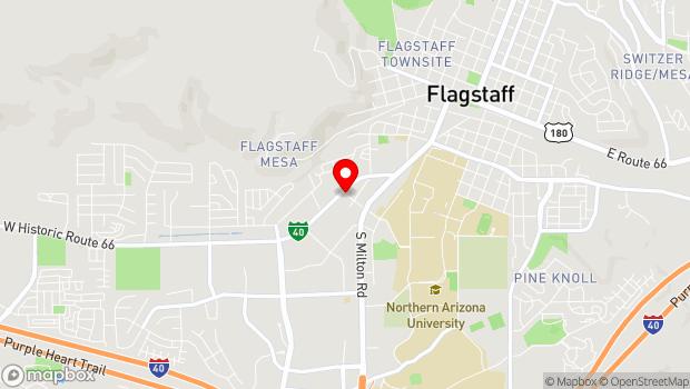 Google Map of Building 37 (off Riordan Road), Flagstaff, AZ 86001