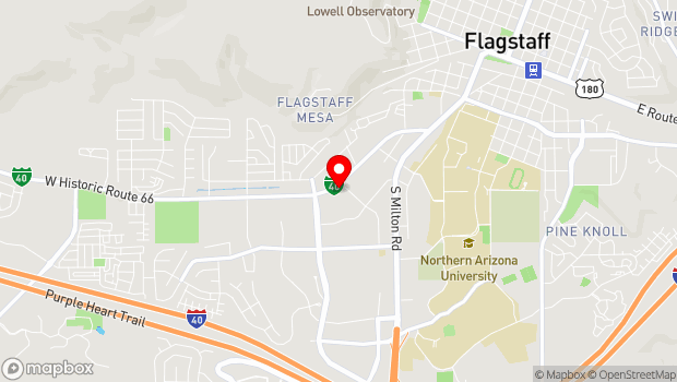 Google Map of 1175 West Route 66, Flagstaff, AZ 86001