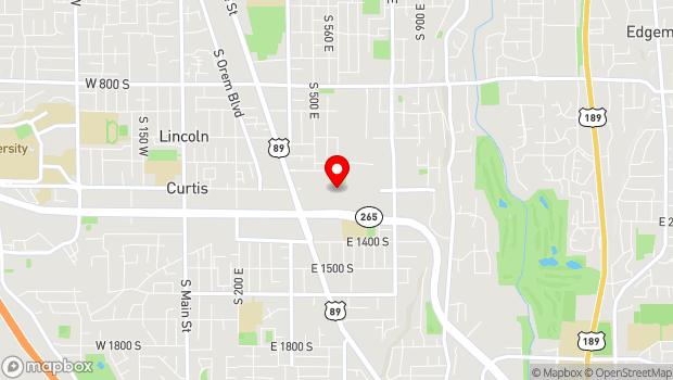 Google Map of 575 East Univ. Parkway, Orem, UT 84097