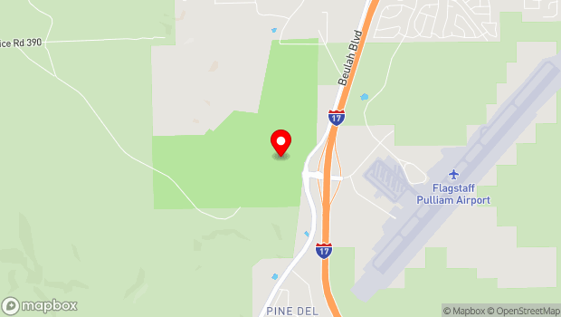 Google Map of Fort Tuthill County Park, Flagstaff, AZ 86005
