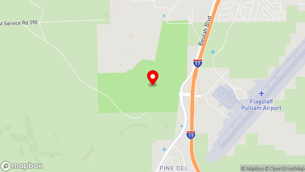 Google Map of 2446 Ft. Tuthill Loop, Flagstaff, AZ 86001
