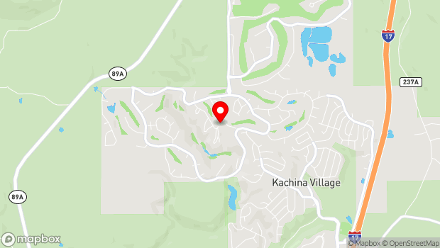 Google Map of 2425 William Palmer, Flagstaff, AZ 86001