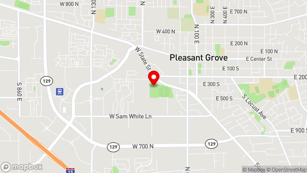 Google Map of 485 W 220 S St, Pleasant Grove, UT 84062