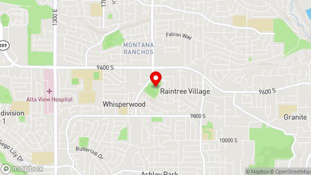 Google Map of 9565 S Highland Dr, Sandy, UT 84092