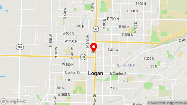 Google Map of 255 North Main, Logan, UT 84321