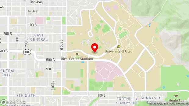 Google Map of 410 Campus Center Drive, Salt Lake City, UT 84112