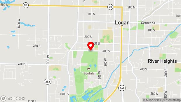 Google Map of 400 South 400 West, Logan, UT 84321