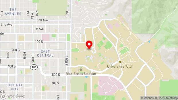 Google Map of 200 Central Campus Drive, Salt Lake City, UT 84112