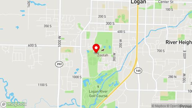 Google Map of 450 W 700 S, Logan, UT 84321