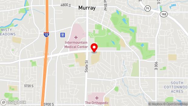 Google Map of 178 E 5300 S, Murray, UT 84107