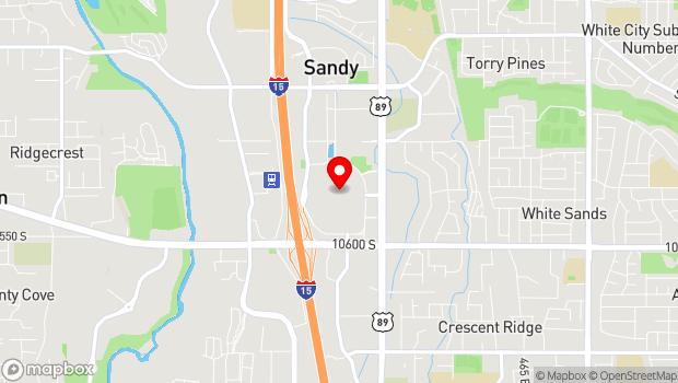 Google Map of 10450 S. State Street, Sandy, UT 84070