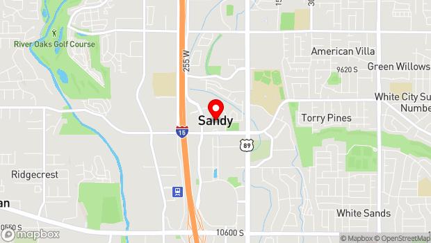 Google Map of 10000 Centennial Parkway, Sandy, UT 84070