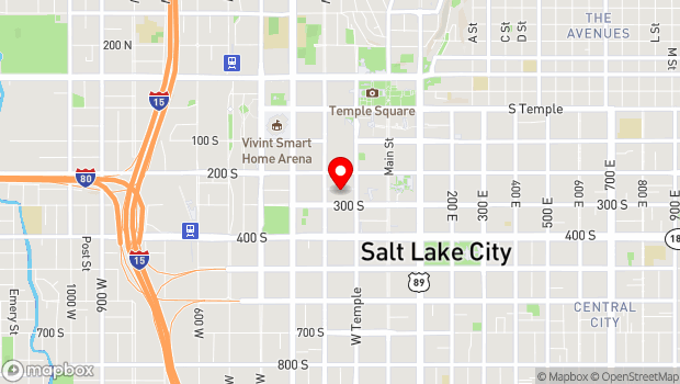 Google Map of 149 S. Pierpont Ave., Salt Lake City, UT 84101