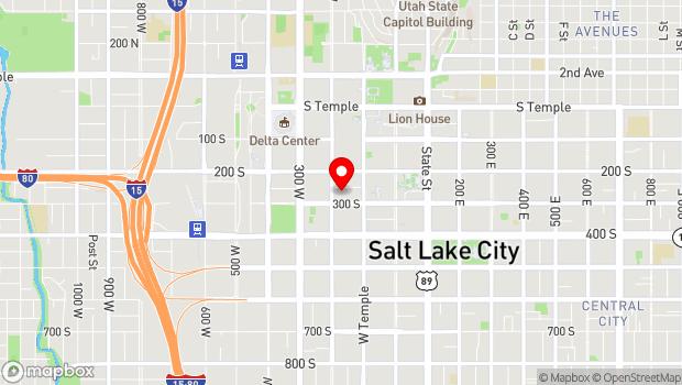 Google Map of 163 West Pierpont Avenue, Salt Lake City, UT 84101