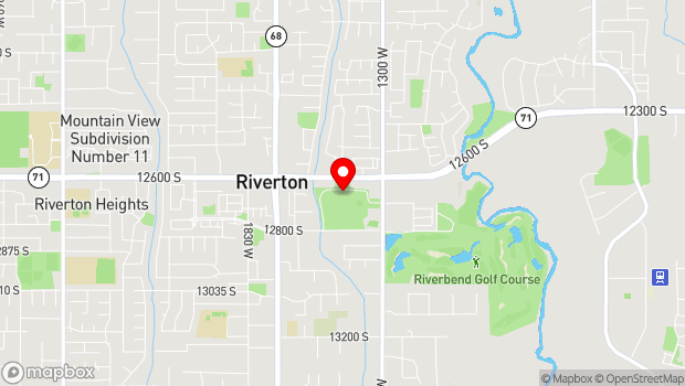 Google Map of 1452 W 12600 S, Riverton, UT 84065