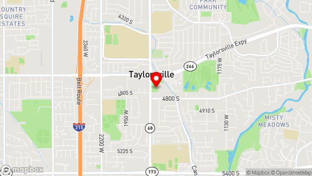 Google Map of 4743 South Plymouth View Drive, Salt Lake City, UT 84123