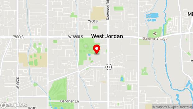 Google Map of 8030 S 1825 W, West Jordan, UT 84088