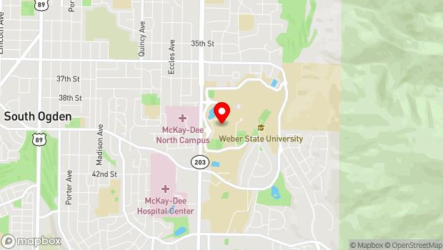 Google Map of 3964 W Campus Dr, Ogden, UT 84408