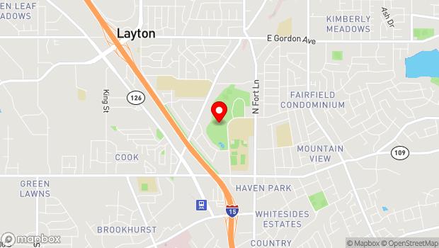 Google Map of 403 North Wasatch Drive, Layton, UT 84041