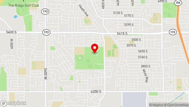 Google Map of 5662 Cougar Lane, Kearns, UT 84118