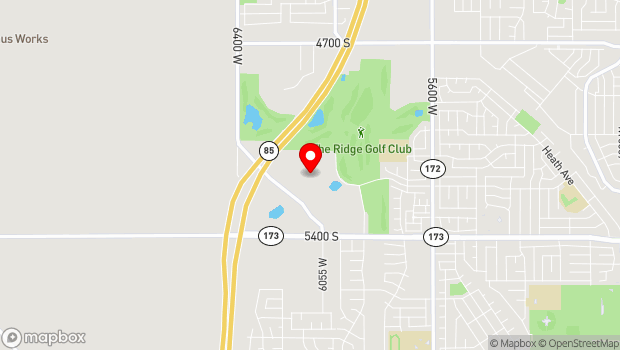 Google Map of 5150 Upper Ridge Road, Kearns, UT 84118