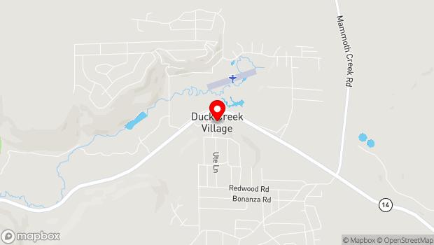 Google Map of Duck Creek Village, Duck Creek Village, UT 84762