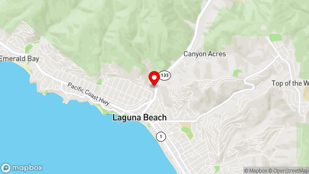 Google Map of 650 Laguna Canyon Road, Laguna Beach, CA 92651