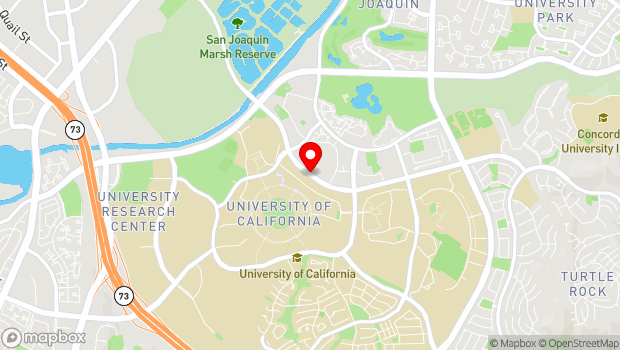 Google Map of 4242 Campus Drive, Irvine, CA 92612