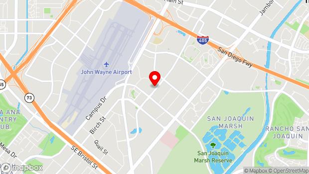 Google Map of 18881 Von Karman Avenue, Suite 100, Irvine, CA 92612