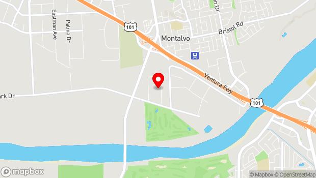 Google Map of 3007 Bunsen Ave , Ventura, CA 93003