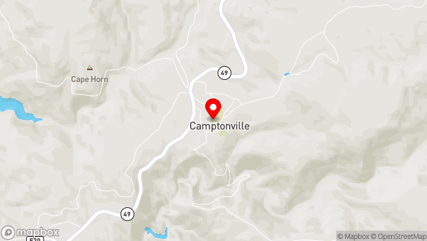 Google Map of 15333 Cleveland Ave, Camptonville, CA 95922