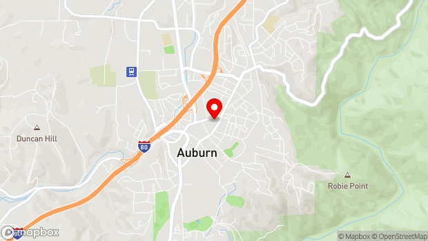 Google Map of 985 Lincoln Way, Auburn, CA 95603
