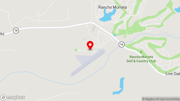 Google Map of 7200 Lone Pine Dr, Rancho Murieta, CA 95683