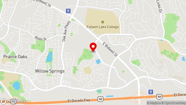 Google Map of 66 Clarksville Road, Folsom, CA 95630