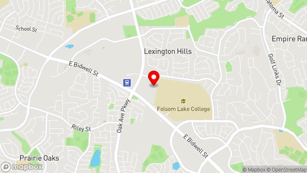 Google Map of 745 Oak Ave Pkwy., Folsom, CA 95630