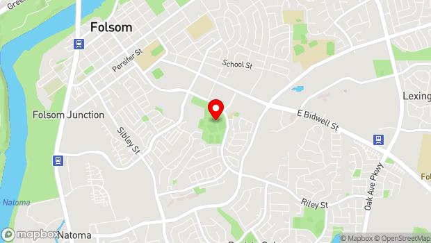 Google Map of 1302 Riley St, Folsom, CA 95630