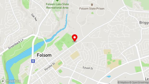 Google Map of 48 Natoma Street, Folsom, CA 95630