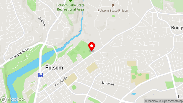 Google Map of 48 Natoma Street, Folsom, CA 95630
