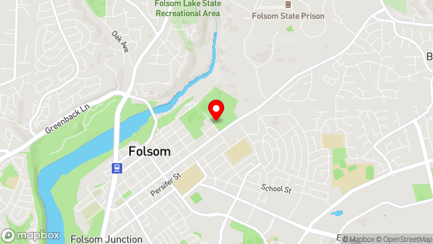 Google Map of 411 Stafford Street, Folsom, CA 95630