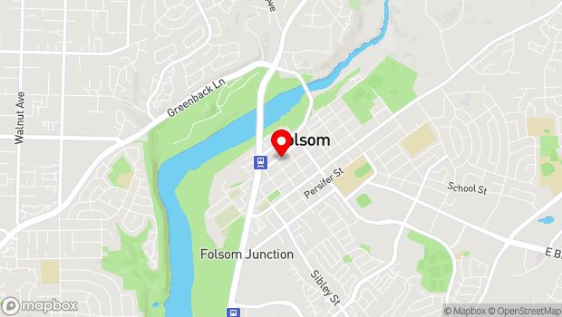 Google Map of 823 Sutter Street, Folsom, CA 95630