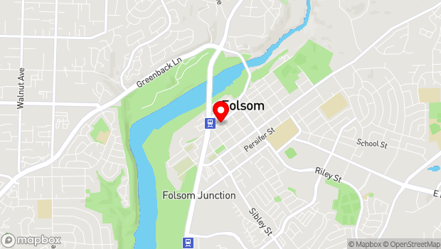 Google Map of 915 Sutter Street, Folsom, CA 95630