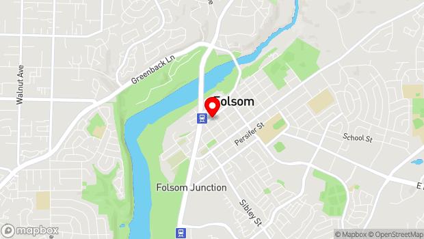 Google Map of 915 Sutter St., Folsom, CA 95630